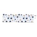 Biais imprimé 750022 étoiles bleues