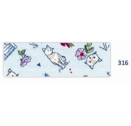 Biais motifs chat ciel 316
