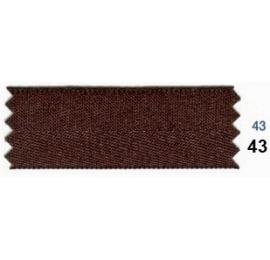 Ruban ceinture marron