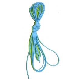 Élastique rond 2 mm vert
