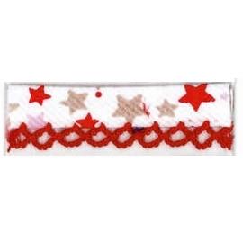 Biais piquot Étoiles Rouge