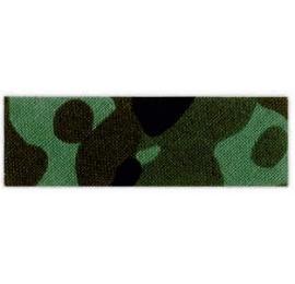 Biais imprimé camouflage vert 63