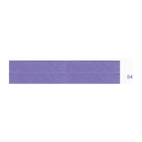 Biais unis violet 54