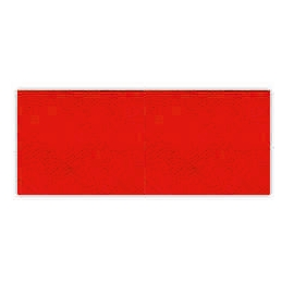Biais unis Large Rouge 47