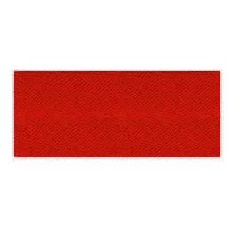 Biais unis Large Rouge 46