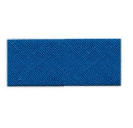 Biais unis Large Bleu 25
