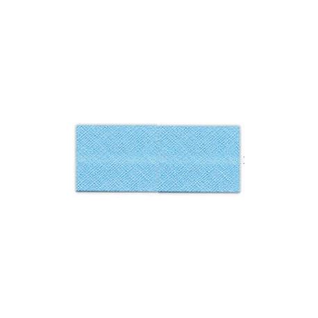 Biais unis Large Bleu 15