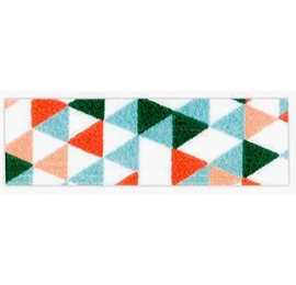 Biais imprimé 7702 colorgéométric 10