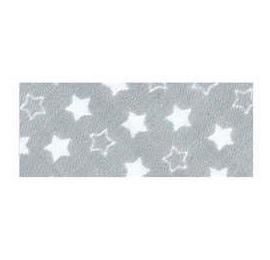 Biais imprimé 7703 étoile Gris