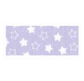 Biais imprimé 7703 étoile Mauves