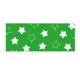 Biais imprimé 7703 étoile Vert