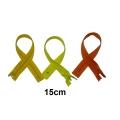 Fermeture 15cm : les jaunes et oranges pour jupes et pantalons
