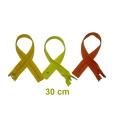 Fermeture 30cm : les jaunes et oranges pour jupes et pantalons