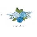 écussons petites fleurs brodées 5