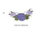 écussons petites fleurs brodées 6
