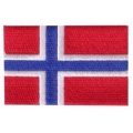 écussons drapeau Norvége