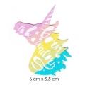 écussons fantastiques licorne tricolor
