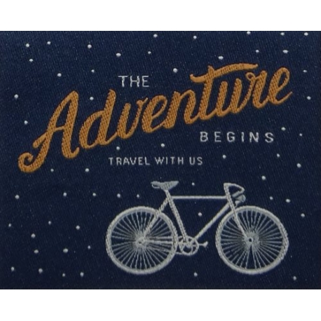 écussons cycle adventure begins bleu