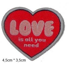 écussons dessin bd coeur love