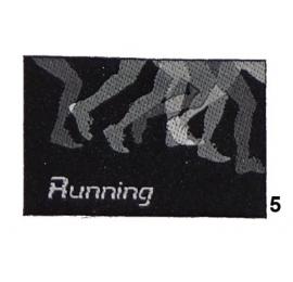 Ecusson Running 5