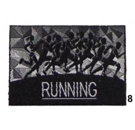 Ecusson Running 8