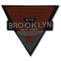 écussons triangle brun brooklyn