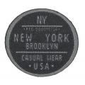 écussons rond New York