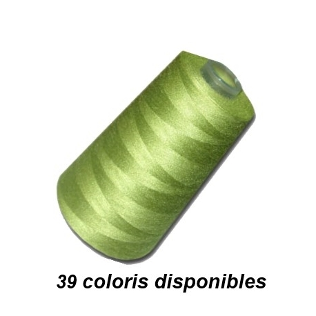 Cône couleur 3000 yards polyester