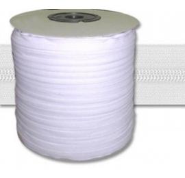 Fermeture au mètre chaine de 5 mm blanc