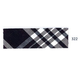 Biais écossais bleu 322