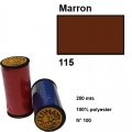Fil goldmann 115 marron