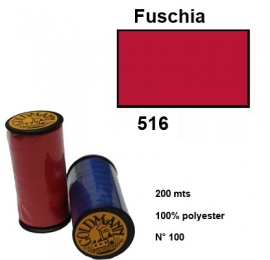 Fil goldmann 516 rouge fuschia