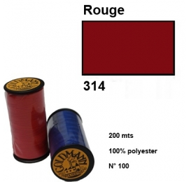 Fil goldmann 314 rouge
