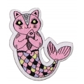 écussons dessin sirène chat