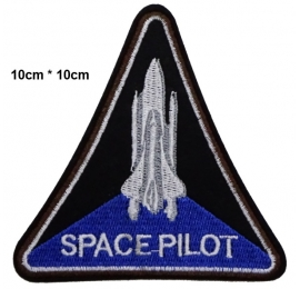 Écusson Avion Navette space pilot