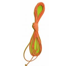 Élastique rond 2 mm orange