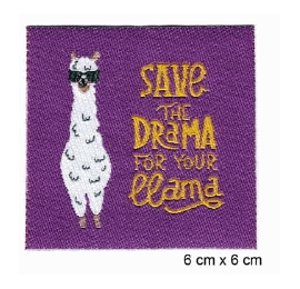 Écussons enfant save the drama lama