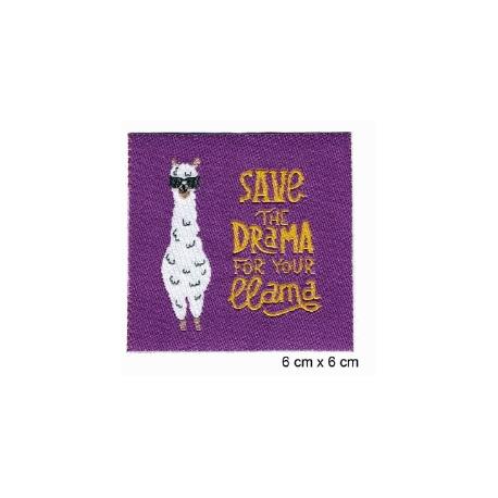 Écussons enfant save the drama lama