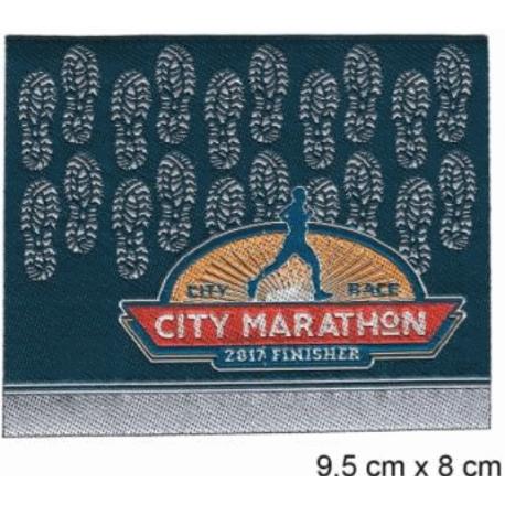 Écussons running city Marathon