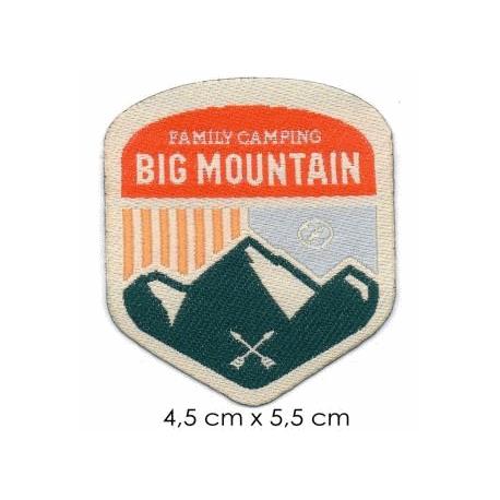 Écusson Nature Big Mountain