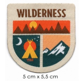 Écusson Nature Wilderness