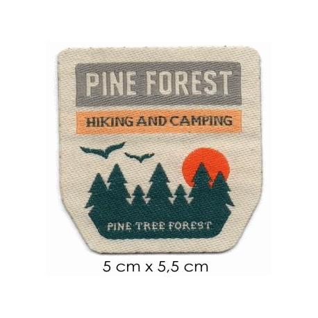 Écusson Nature Pine Forest