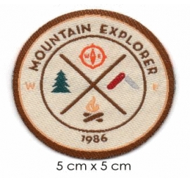 Écussons Nature Mountain explorer