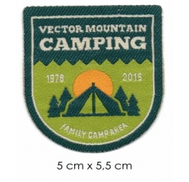 Écusson Nature Camping