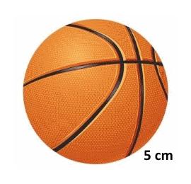 Écussons Balles et ballons - Ballon de Basket