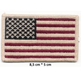 Écussons drapeau Amèricain 8,5cm