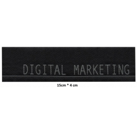 Écusson en longeur Digital Marketing