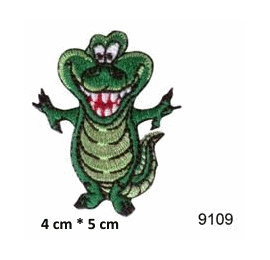 écussons dessins animaux crocodile