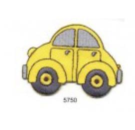 écussons dessins auto jaune