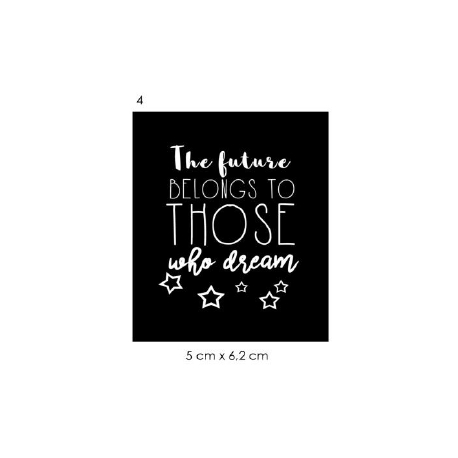 Écusson The future belongs to those